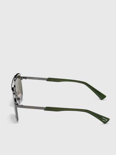 Diesel - DL0320, Verde - Occhiali da sole - Image 3