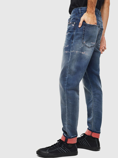 Diesel - D-Vider JoggJeans 069LW, Blu Scuro - Jeans - Image 5