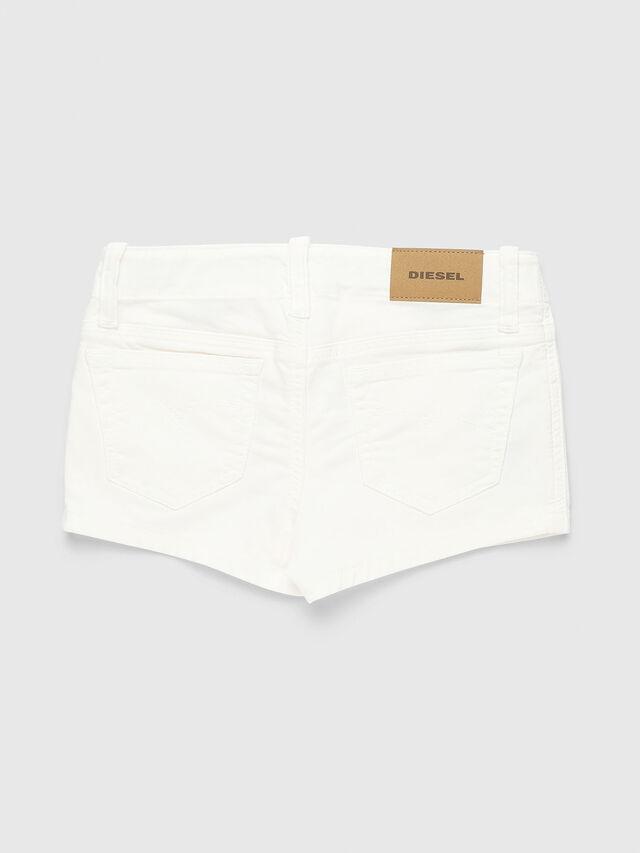 Diesel - PRIRAZ-N, Bianco - Shorts - Image 2