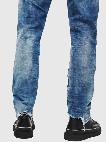 Diesel - Krooley JoggJeans 087AC, Blu medio - Jeans - Image 5