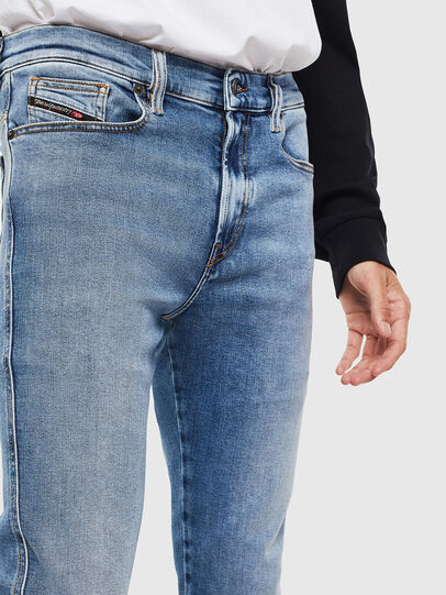 Diesel - D-Istort 009BG, Blu medio - Jeans - Image 3