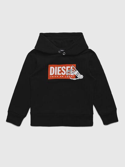 Diesel - SKELE-TSE, Nero - Felpe - Image 1