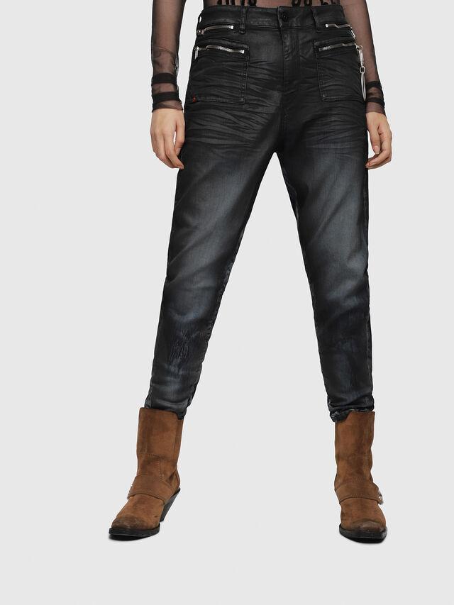 Diesel - D-Eifault JoggJeans 086AZ, Blu Scuro - Jeans - Image 1