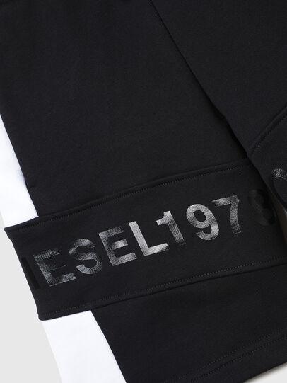 Diesel - PSHAM, Nero/Bianco - Shorts - Image 3