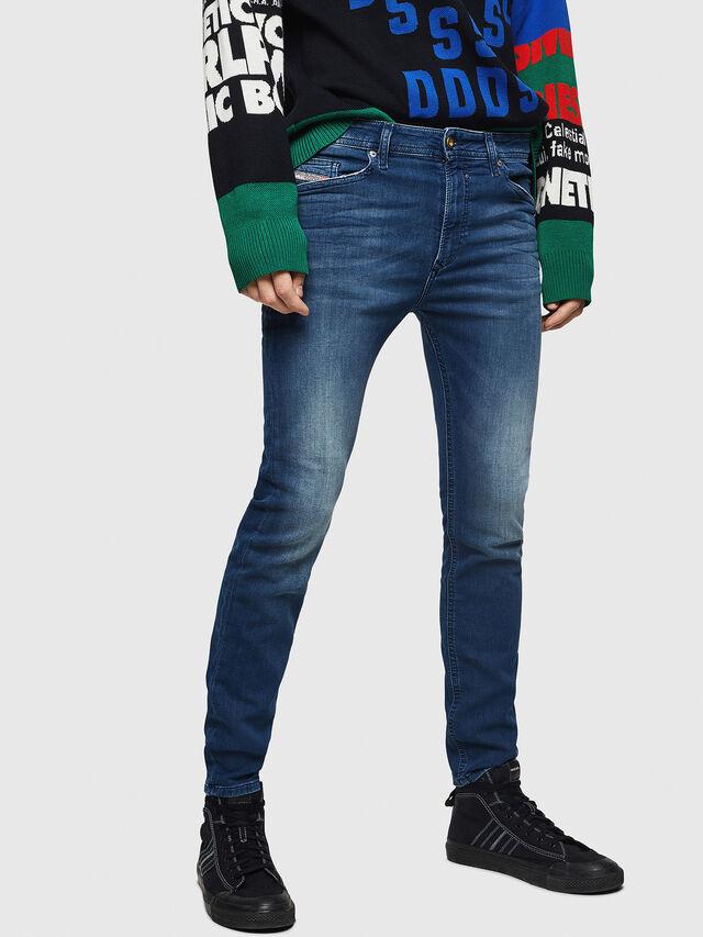 Diesel - Spender JoggJeans 069HC, Blu Scuro - Jeans - Image 1