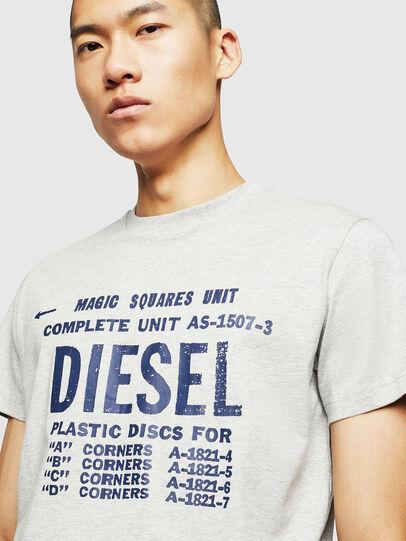 Diesel - T-DIEGO-B6, Grigio Chiaro - T-Shirts - Image 3