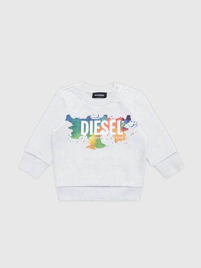 Diesel - SCREWDOSKYB, Bianco - Felpe - Image 1
