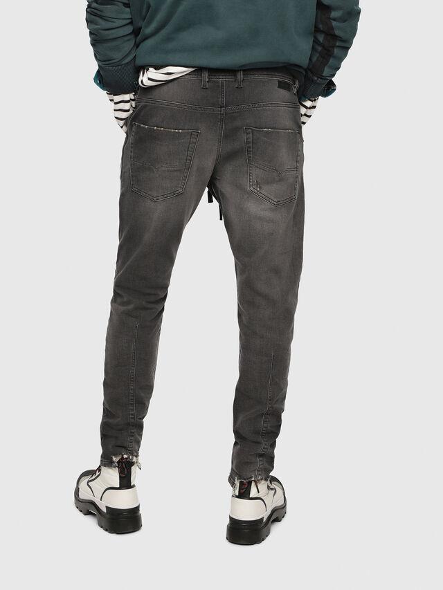 Diesel - Krooley JoggJeans 069EM, Nero/Grigio scuro - Jeans - Image 2