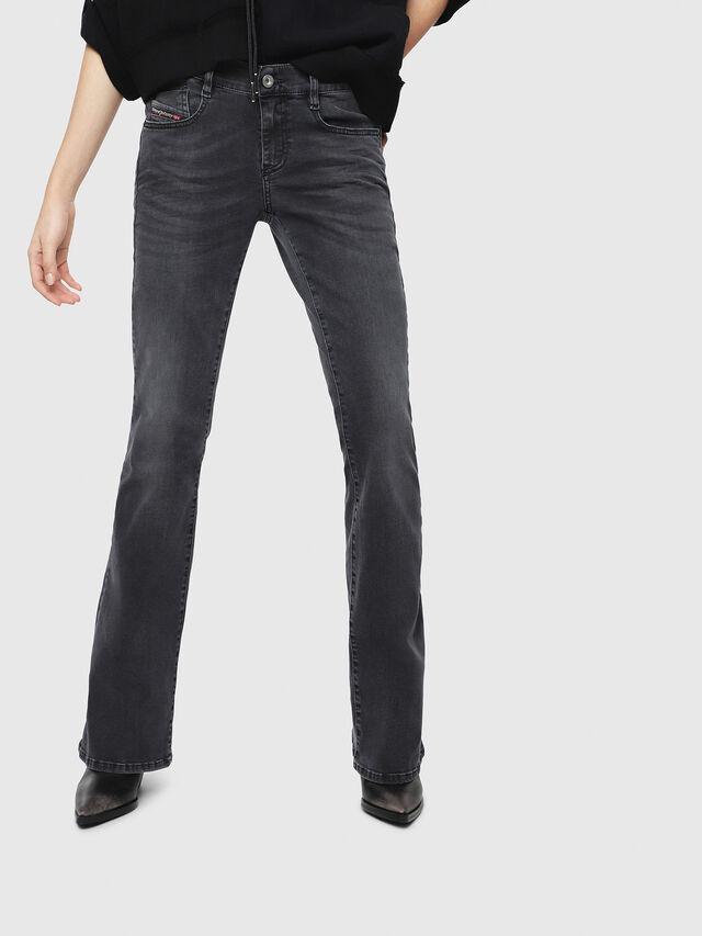 Diesel - D-Ebbey 069EQ, Blu Scuro - Jeans - Image 1