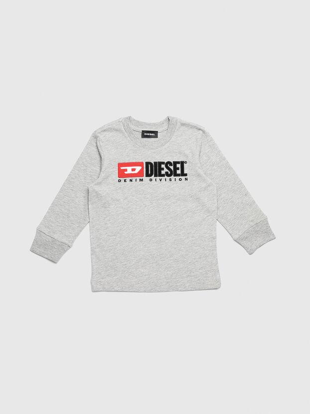 TJUSTDIVISIONB ML-R, Grigio Chiaro - T-shirts e Tops