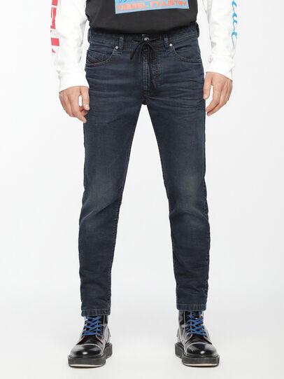 Diesel - Thommer JoggJeans 069AG, Blu Scuro - Jeans - Image 1