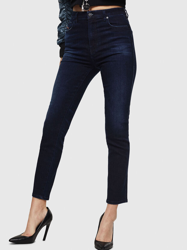 Babhila High 083AG, Blu Scuro - Jeans