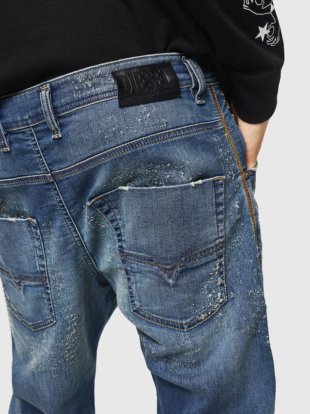Diesel - Krooley JoggJeans 069HG, Blu medio - Jeans - Image 5