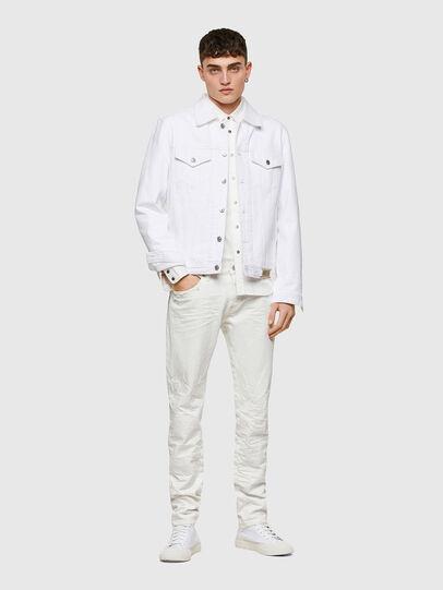 Diesel - D-Kras 0HBAJ, Bianco - Jeans - Image 6