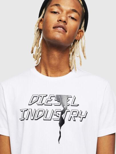 Diesel - T-DIEGO-J25, Bianco - T-Shirts - Image 3