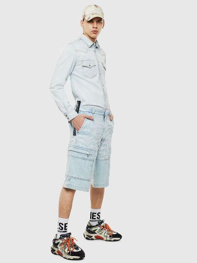 Diesel - D-EAST-P, Blu Jeans - Camicie in Denim - Image 6