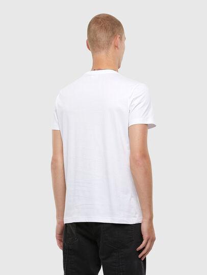 Diesel - T-DIEGOS-N22, Bianco - T-Shirts - Image 2