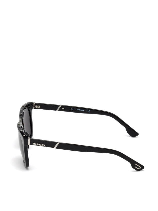 Diesel - DL0212, Nero - Occhiali da sole - Image 3