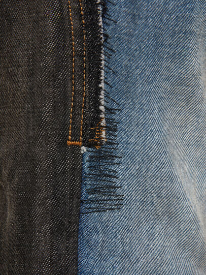 Diesel - D-Kras 009EA, Nero/Grigio scuro - Jeans - Image 4