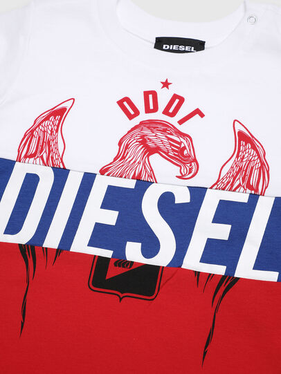 Diesel - TRICKYB, Bianco/Rosso/Blu - T-shirts e Tops - Image 3
