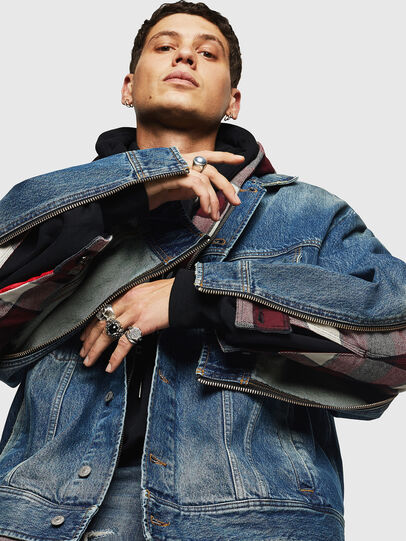 Diesel - D-LORY,  - Giacche in denim - Image 5