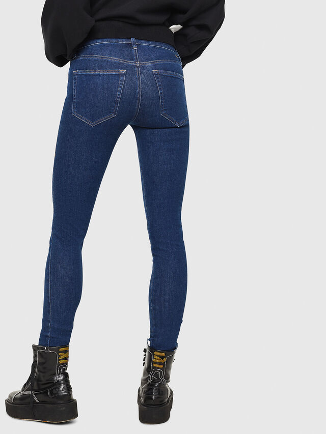 Diesel - Slandy 082AA, Blu Scuro - Jeans - Image 2
