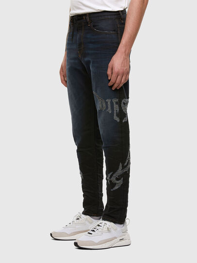 Diesel - D-Vider JoggJeans 009HE, Blu Scuro - Jeans - Image 6