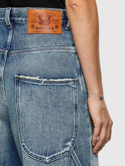 Diesel - D-Luite 09A58, Blu medio - Jeans - Image 4