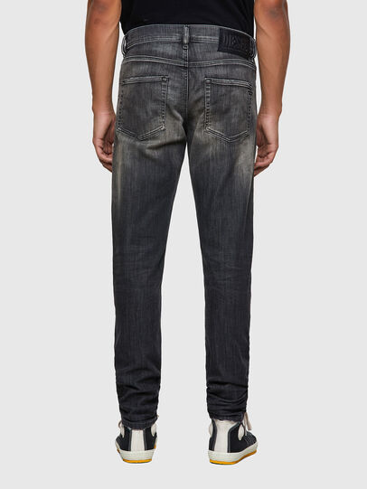Diesel - D-Strukt JoggJeans® 09B54, Nero/Grigio scuro - Jeans - Image 2