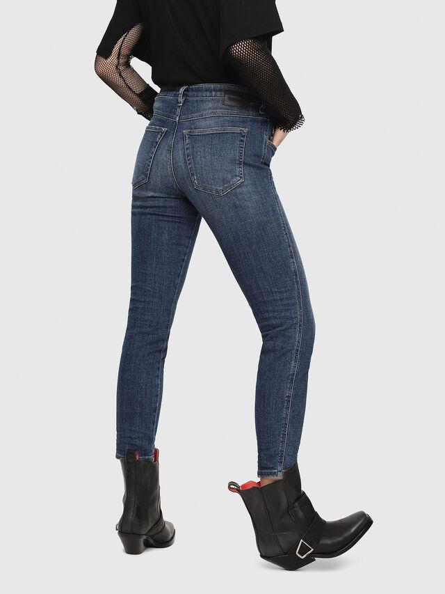 Diesel - Babhila 081AI, Blu Scuro - Jeans - Image 2