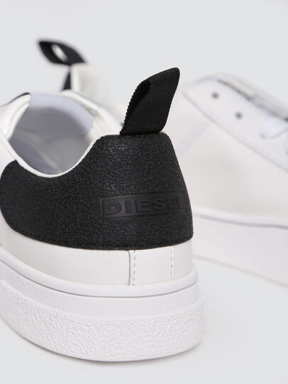 Diesel - S-CLEVER LOW W, Bianco/Nero - Sneakers - Image 4