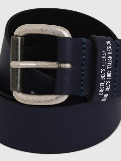Diesel - B-NOVO, Blu - Cinture - Image 2