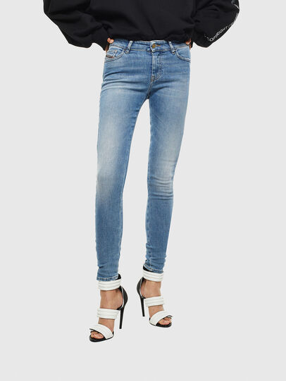 Diesel - Slandy 0095B, Blu Chiaro - Jeans - Image 1