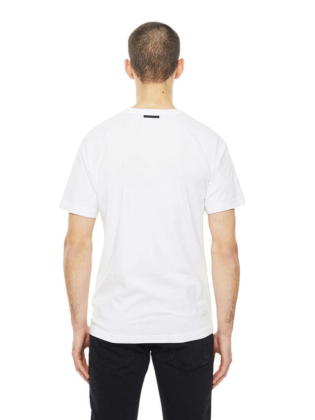 Diesel - TY-CRUISING, Bianco - T-Shirts - Image 2