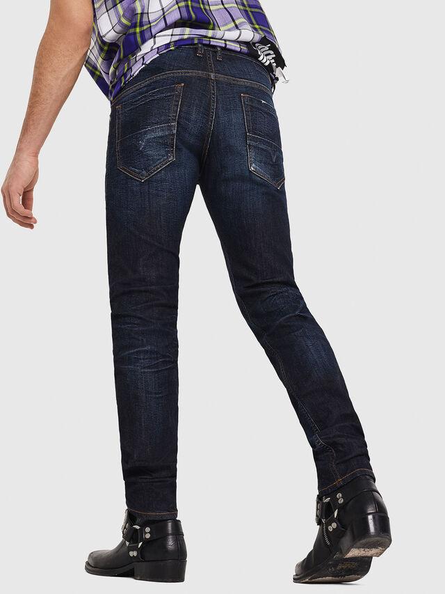 Diesel - Thommer 081AT, Blu Scuro - Jeans - Image 2