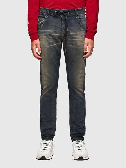 Diesel - Krooley JoggJeans 069QE, Blu Scuro - Jeans - Image 1