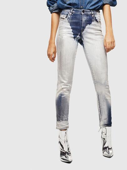 Diesel - Babhila 0094W, Blu medio - Jeans - Image 1