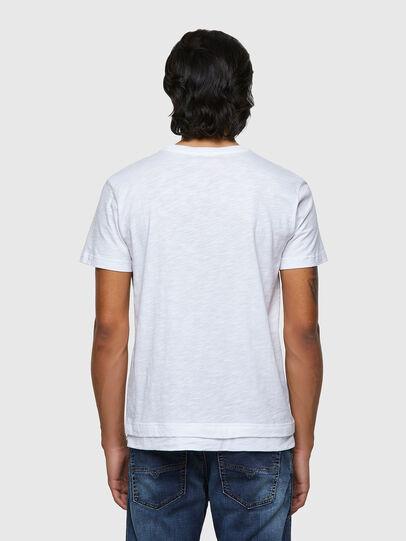 Diesel - T-RONNIE, Bianco - T-Shirts - Image 2