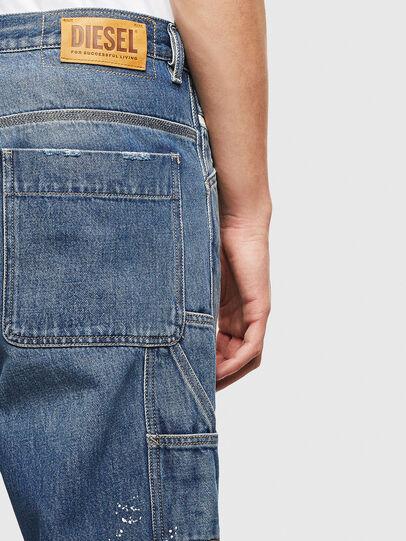 Diesel - D-Franky 009CB, Blu medio - Jeans - Image 7
