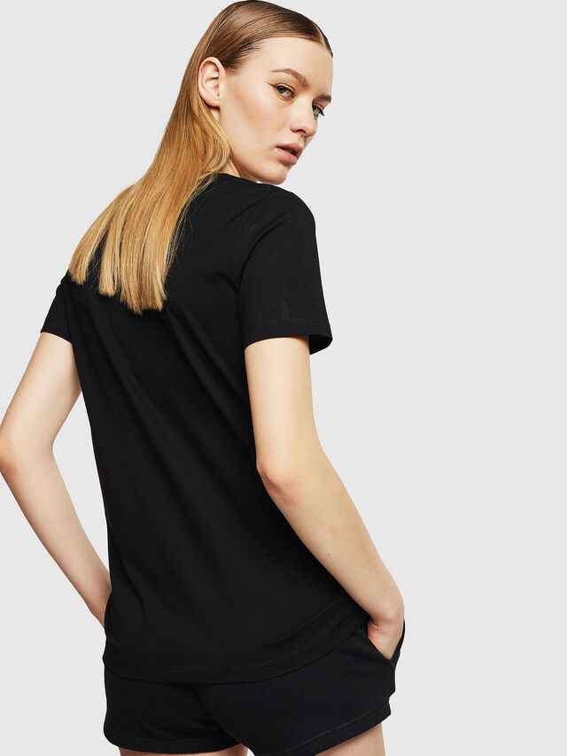 Diesel - UFTEE-SILY-INT, Nero - T-Shirts - Image 2