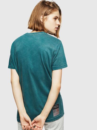 Diesel - T-FLAVIA-IC, Blu - T-Shirts - Image 2