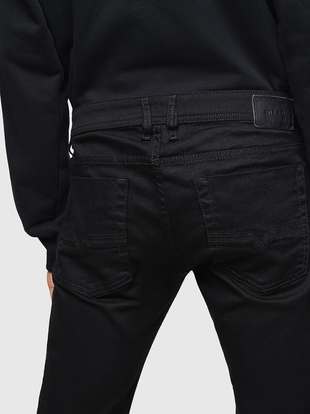 Diesel - Zatiny 0688H, Nero/Grigio scuro - Jeans - Image 4