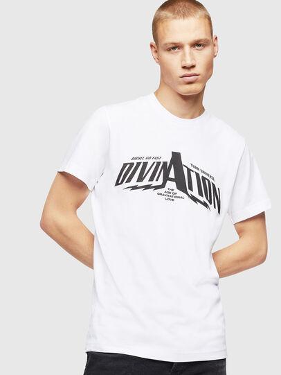 Diesel - T-DIEGO-B16, Bianco - T-Shirts - Image 1