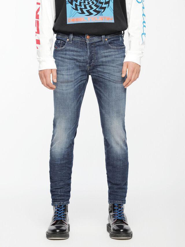 Diesel - Sleenker 084UI, Blu medio - Jeans - Image 1