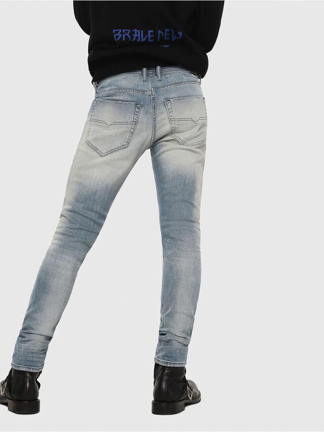 Diesel - Tepphar 081AP, Blu Chiaro - Jeans - Image 2