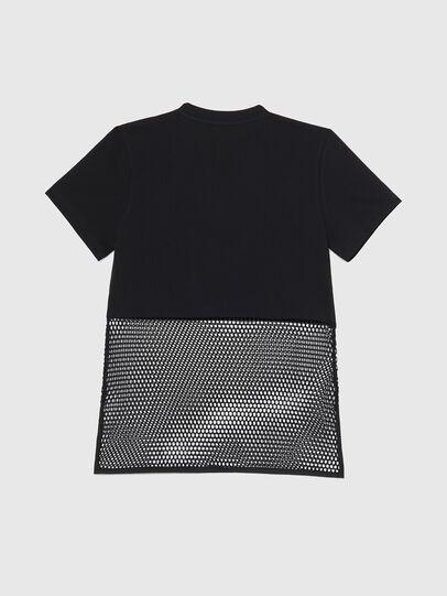 Diesel - BFOWT-BLOKY-P, Nero - T-Shirts - Image 2