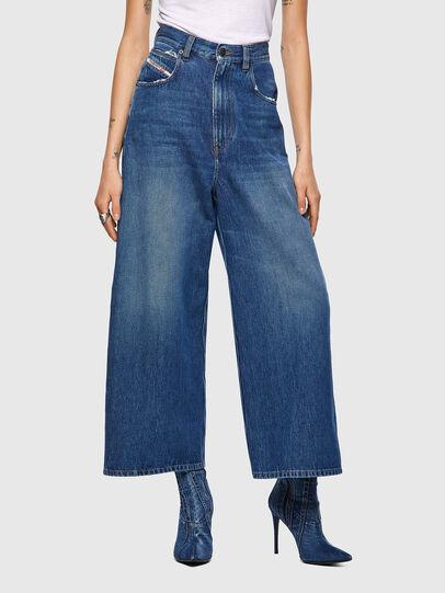 Diesel - D-Luite 09A82, Blu medio - Jeans - Image 1