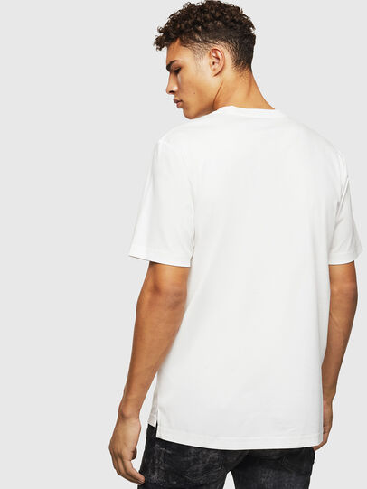 Diesel - T-JUST-POCKET-J1, Bianco - T-Shirts - Image 2