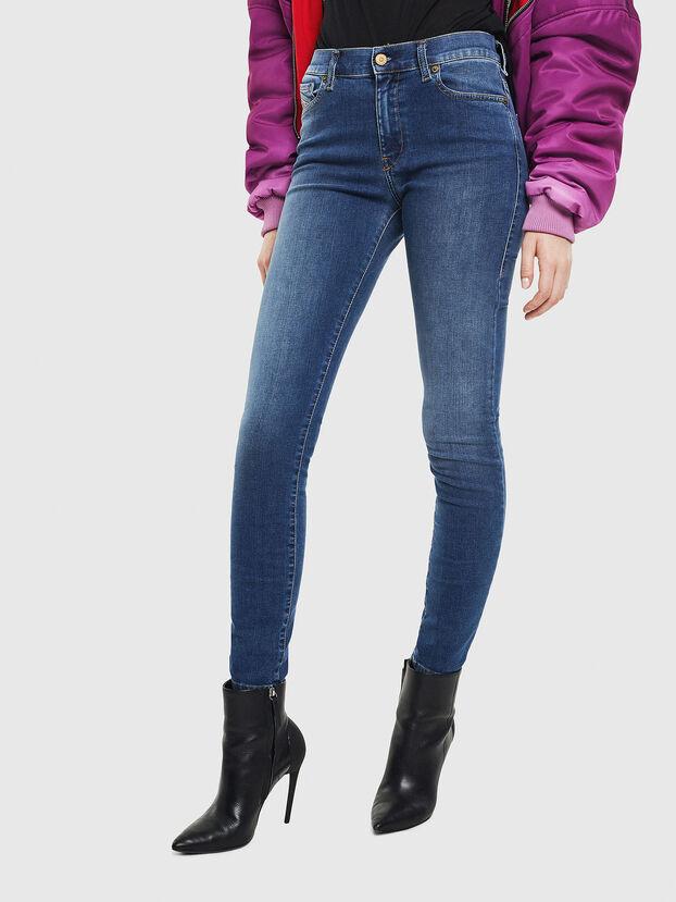 D-Roisin 085AB, Blu medio - Jeans