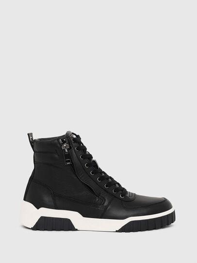 Diesel - S-RUA MID, Nero - Sneakers - Image 1